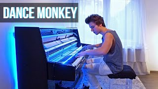 Download lagu TONES AND I - DANCE MONKEY (Piano cover) by Peter Buka