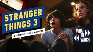 Stranger Things Season 3: Ending Explained