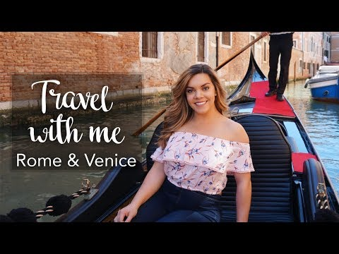 TRAVEL WITH ME | Rome & Venice