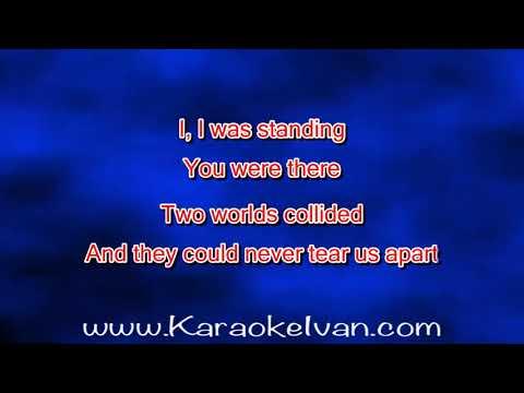 Ash Morgan - Never Tear Us Apart (KARAOKE)