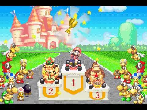 Game Boy Advance Longplay 075 Mario Kart Super Circuit Youtube
