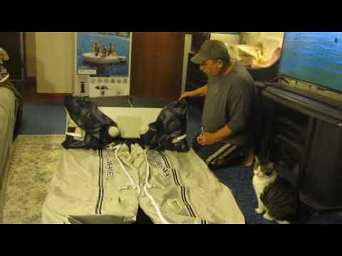 Hydro-Force Mirovia Pro Inflatable Boat. Packing Up The Boat.