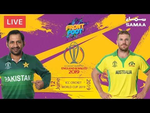 Front Foot | Pakistan vs Australia | ICC CRICKET WORLD CUP 2019 | 12 June 2019