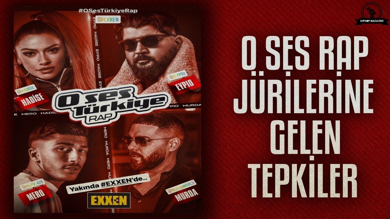 O Ses Türkiye Rap Jürilerine Gelen Tepkiler