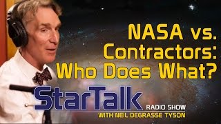 Contractors and NASA: Who Does What?