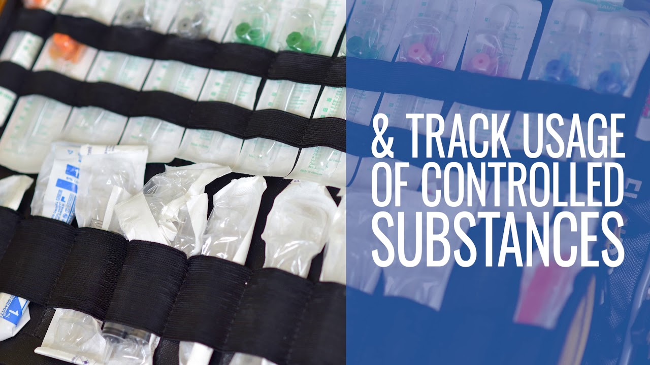 track medications and controlled substances through the