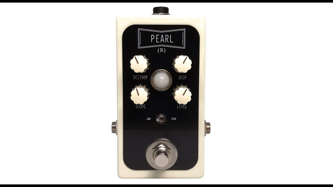 RECOVERY EFFECTS PEARL HEAVY LOW-END VINTAGE FUZZ PEDAL GUITAR BASS EFFECT