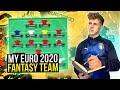 MY EURO 2020 FANTASY TEAM