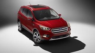 2017 Ford Kuga ( 2017 Ford Escape )(В салоне Ford Escape/Kuga изменились рулевое колесо и центральный тоннель, появилась кнопка электронного стояночн..., 2015-11-18T12:07:02.000Z)