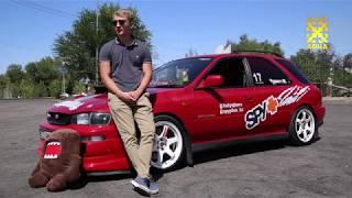 Subaru impreza.  тест-драйв.  автомобильный тележурнал - регион 02