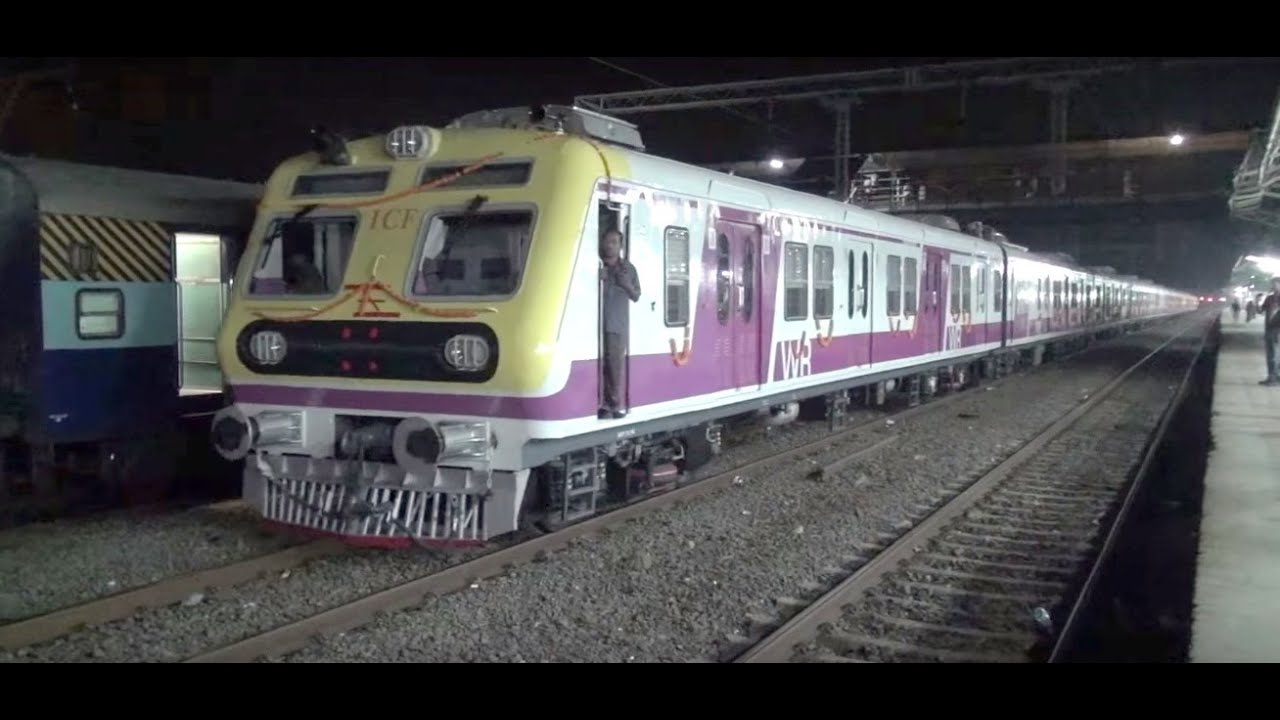 Brand New Icf Swanky Stainless Steel Local Train Captured