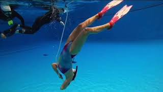 마크피에뉴 스윔웨어 토모 스타일과 함께 한 프리다이빙 …