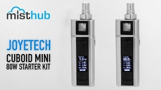 Joyetech Cuboid Mini 80W TC Starter Kit Video