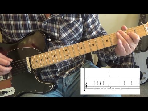 Blackberry Smoke - Wish in one hand - Guitar Lesson with Tabs