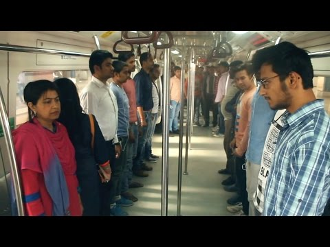 National Anthem in Delhi metro |first time in India |Social Experiment|