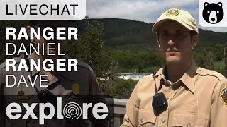 Ranger Dave and Daniel - Katmai National Park - Live Chat thumbnail