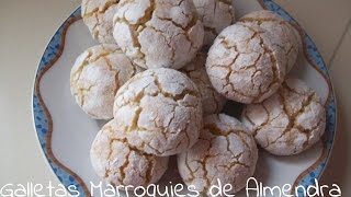 Galletas Marroquies de almendra