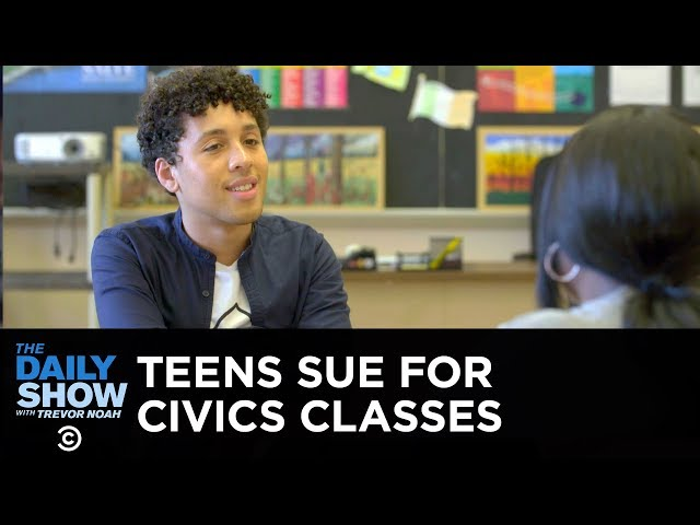Rhode Island Teens Fight for Civics Education | The Daily Show