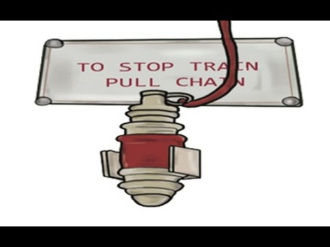 Pulling The Chain Inspiration No More Pulling Chain To Stop Train YouTube
