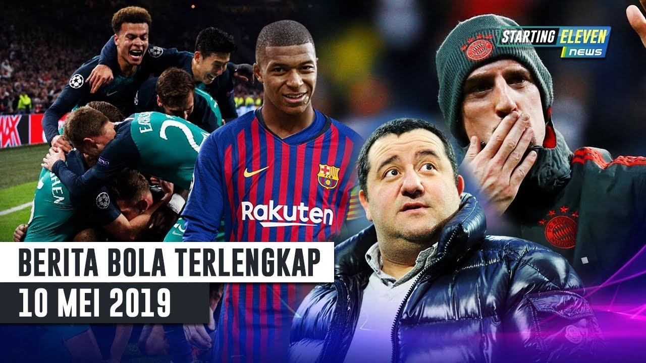 Sejarah Baru Tottenham 🏆 BAJAK! Mbappe Ke Barca 😱 Ribery