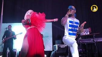 Tanasha X Diamond Platnumz - Gere (official music video ) LIVE PERFORMANCE