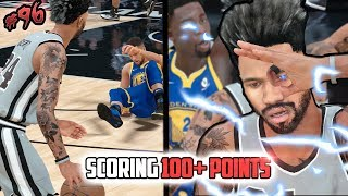 MOST POINTS SCORED ON HALL OF FAME VS GSW! Steph Curry Ankle Breaker Crying! NBA 2k18 MyCAREER Ep 96