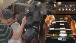 Styx - Blue Collar Man Rock Band Expert Drum Videos with proper cymbal usage #9