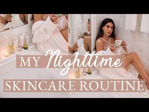 Nighttime Skincare Routine // Brittany Xavier thumbnail