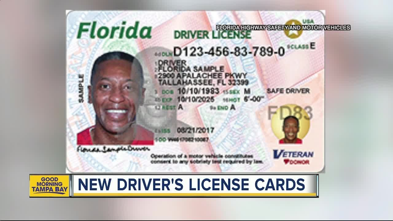 Driver's Id Cards Licenses Florida's Out And Check New - Youtube
