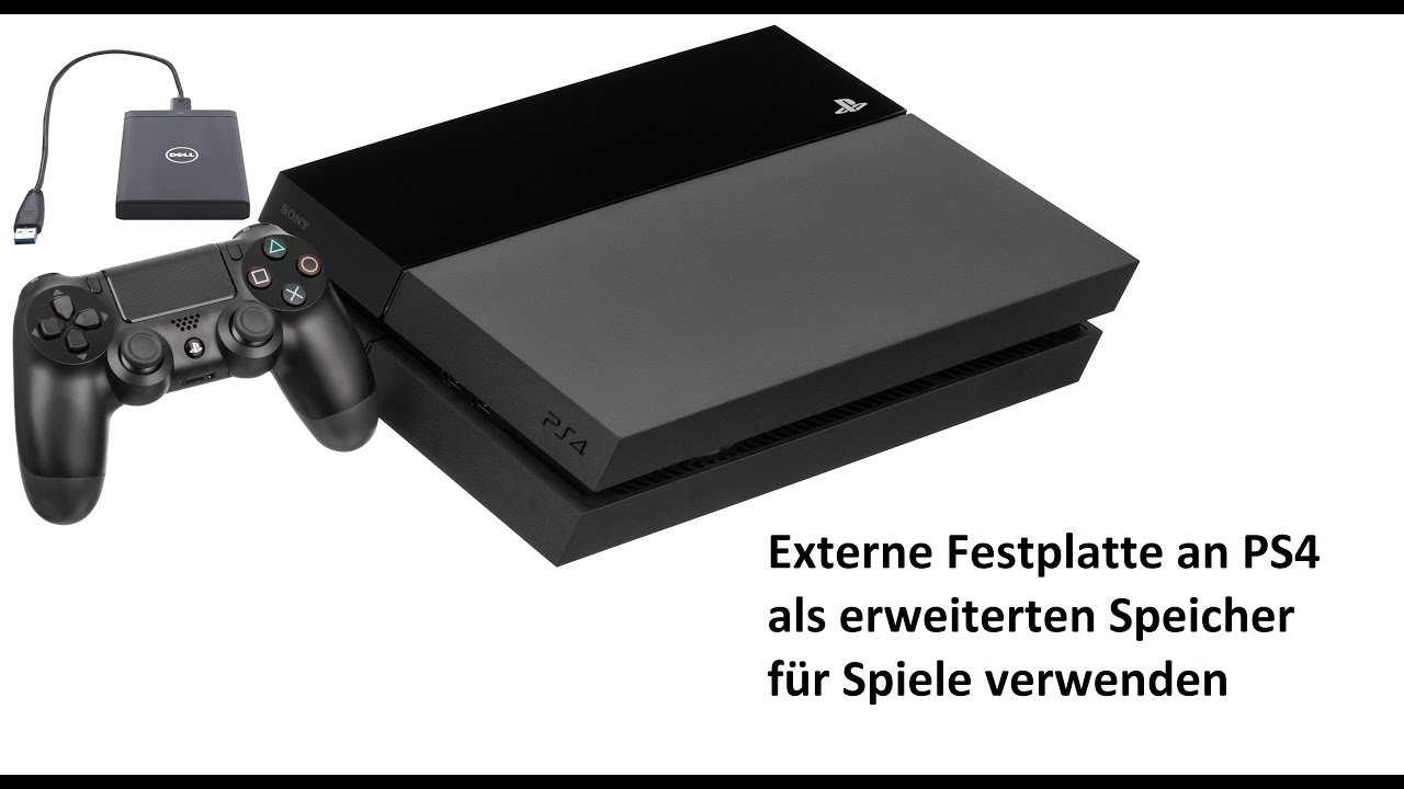 Ps4 Spiele Auf Eine Externe Festplatte Installierenverschieben