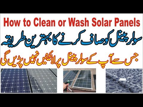 How to Clean Solar Panels in Best Way