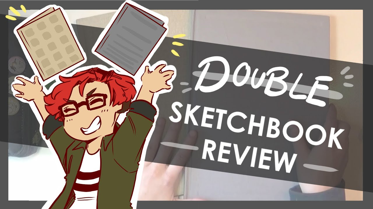 Sketchbook VLOG and REVIEW | LINC Sketchbook First Impressions and Overall Thoughts