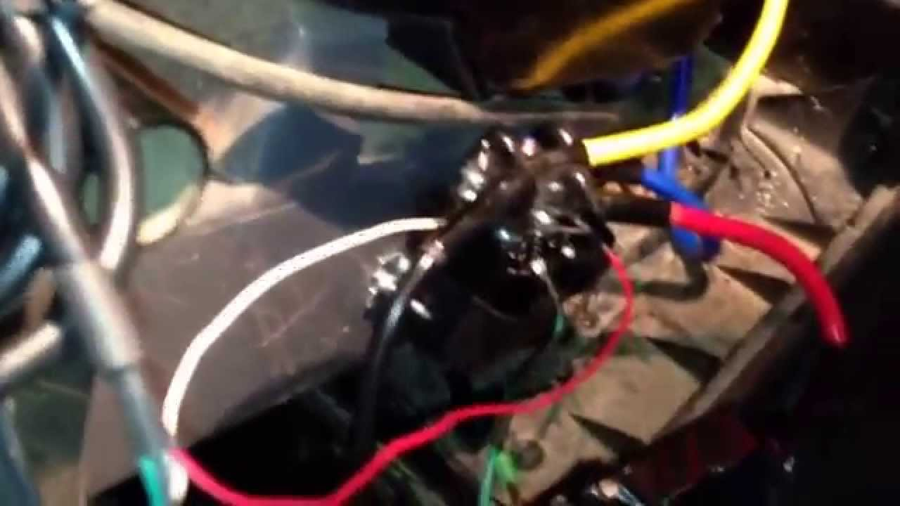 maxresdefault badland 3500 winch install on a kawasaki 3010 mule part 2 youtube 3500 badland winch wiring diagram at nearapp.co