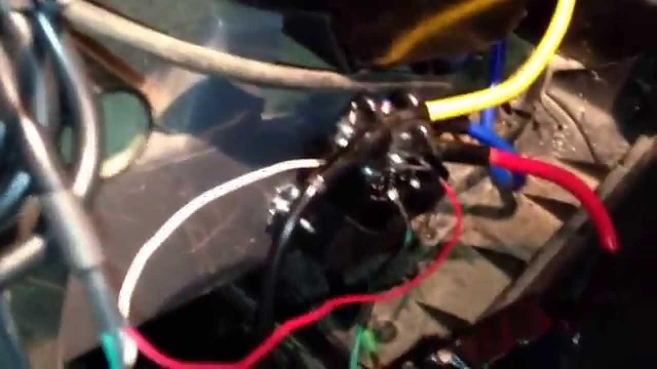 Warn Winch Wiring Diagram 2002 Chevy Cavalier Engine Badland 3500 Install On A Kawasaki 3010 Mule. Part 2 - Youtube