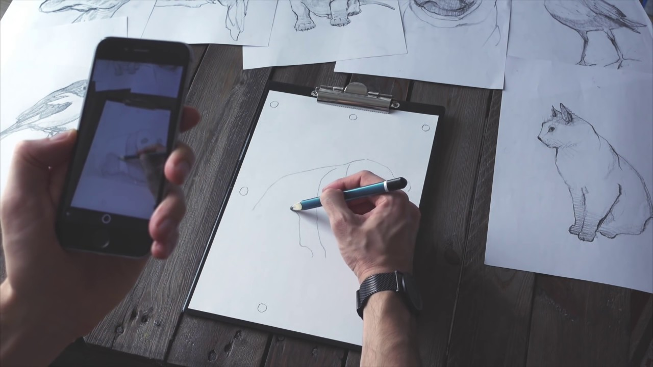 Sketchar Puts Virtual Images On Paper To Let You Trace
