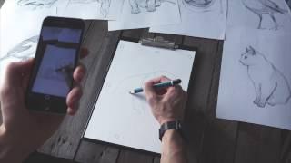 SketchAR для iPhone. Почати легко малювати за допомогою доповненої реальності