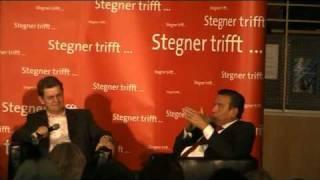 Gerhard Schröder erklärt Ralf Stegner, warum man nicht mit den LINKEN koaliert. thumbnail