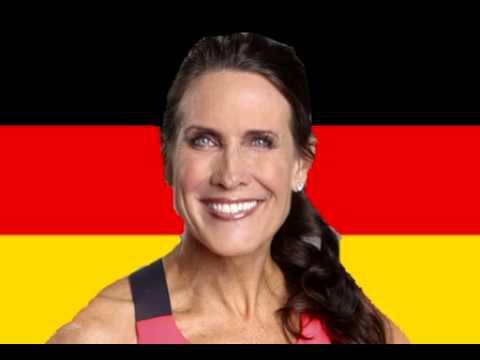 """Teresa """"T-Vogel"""" Cooper speaks German"""