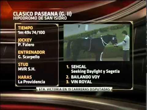 REVISTA DEL TURF. ESPN+. 26/04/12
