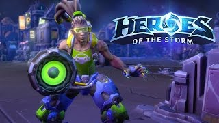Heroes of the Storm Gets Amped Up with Lucio Trailer