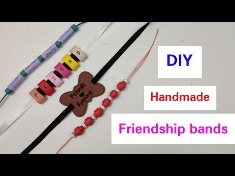DIY Friendship Bracelets: Friendship Band for Friendship Day 2019,How to make Belt/Bracelet at Home