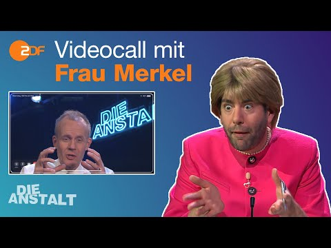 Merkel betont: Das Corona-Gesetz ist demokratisch | Die Anst