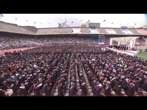 University of Pennsylvania Commencement 2015