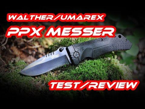 Walther Ppx Messer Von Umarex Im Review Test Youtube