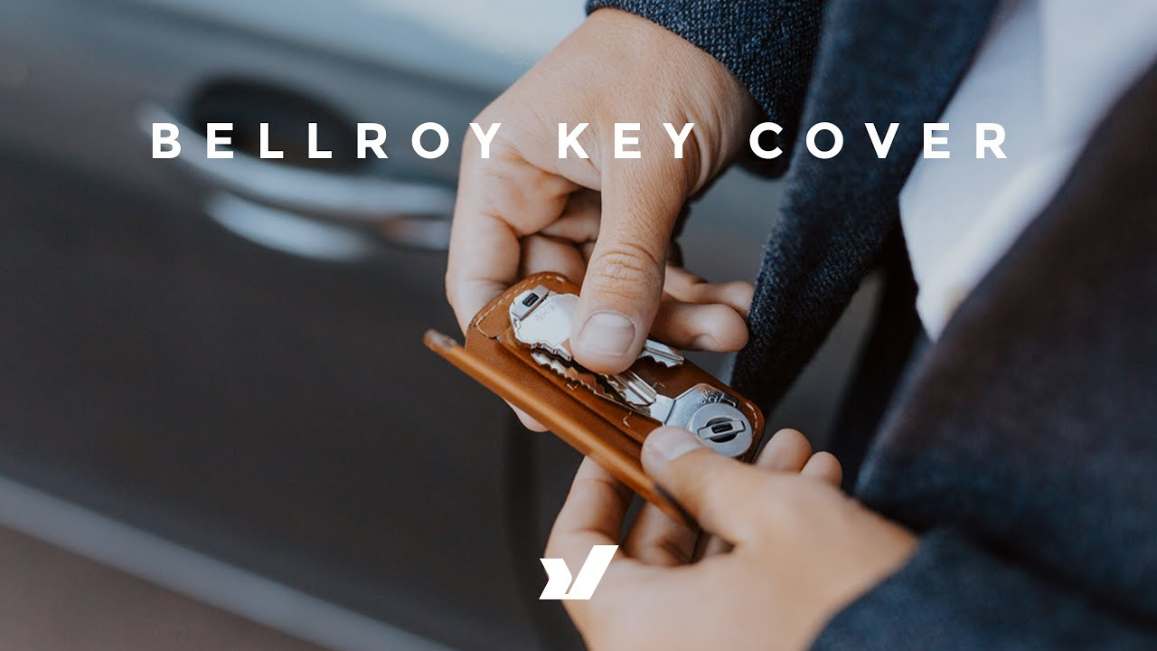 A Beautiful Key Carry Solution - The Bellroy Key Cover