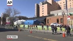 NYC hospital 'overrun' with coronavirus patients