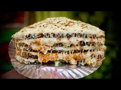 1 KG HULK SANDWICH | India's Biggest 4 Layers Cheese Sandwich | Indian Street Food