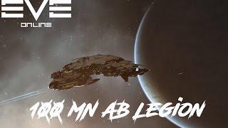 Eve Online - 100MN AB Legion Vs Small Gang