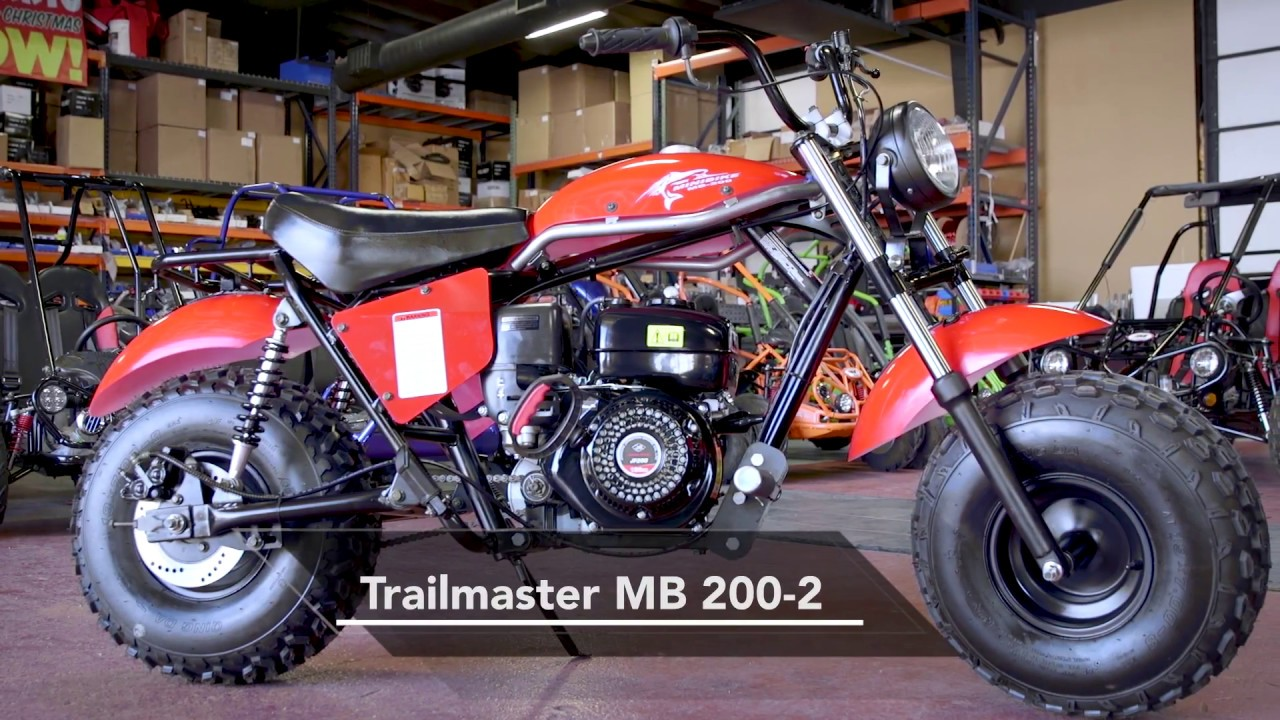 TrailMaster DB200 Mini Bike