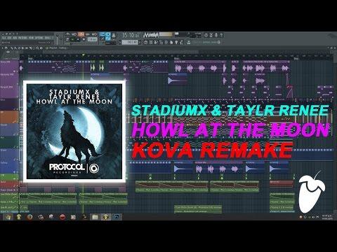 Stadiumx & Taylr Renee - Howl At The Moon (Original Mix) (FL Studio Remake + FLP)